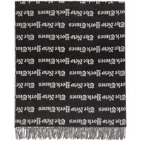 Etudes Studio Black And White The New York Times Edition Magnolia Scarf