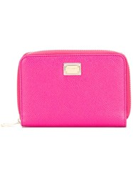 Dolce And Gabbana Dauphine Purse Pink Purple