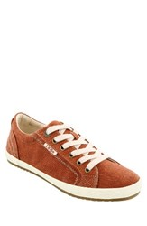 Taos Women's 'Star' Sneaker Burnt Orange Washed Canvas