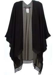 Antonia Zander Embroidered Hem Knit Kaftan