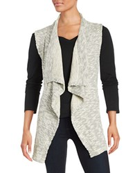 Splendid Heathered Knit Vest