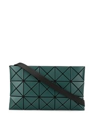 Issey Miyake Bao Bao Lucent Matte Cross Body Bag Green