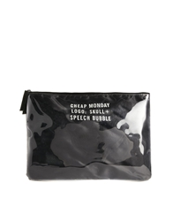 Cheap Monday Cover Kit Clutch In Black