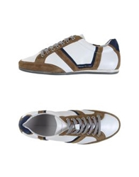 Alessandro Dell'acqua Low Tops And Trainers White