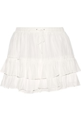 Elizabeth And James Wendy Layered Voile Mini Skirt