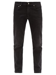 Dunhill Mid Rise Slim Leg Jeans Grey