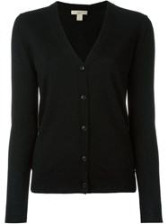 Burberry Brit Elbow Patch Cardigan Black