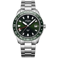 Rotary Gb05108 24 'S Henley Stainless Steel Bracelet Watch Multi