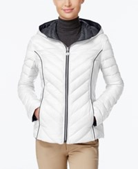 Nautica Reversible Hooded Packable Puffer Coat Only At Macy's Cloud