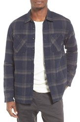 Quiksilver Men's Metal Layer Quilt Lined Flannel Shirt