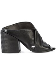 Marsell Crossover Mules Black