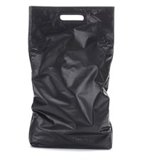Helmut Lang Leather Tote Black