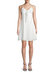 Lucca Couture Vivan Front Tie Dress White