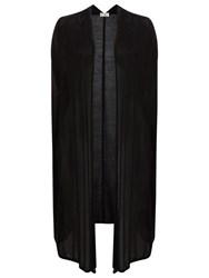 Windsmoor Open Stitch Long Cardigan Black