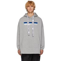 Opening Ceremony Grey Torch Poncho Hoodie