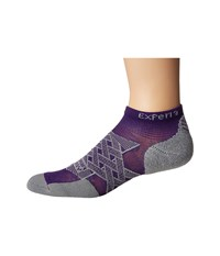 Thorlos Experia Energy No Show Single Pair Electric Purple No Show Socks Shoes