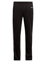 Givenchy Side Stripe Straight Leg Track Pants Black Multi