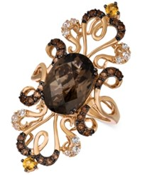 Le Vian Crazy Collection Multi Gemstone Ring 6 1 4 Ct. T.W. In 14K Rose Gold