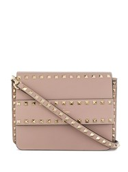 Valentino Garavani Rockstud Shoulder Bag Neutrals