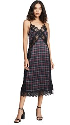 Cami Nyc The Bryce Dress Tartan Plaid