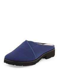 Tesse Stretch Slip On Mule Medieval Blue Taryn Rose