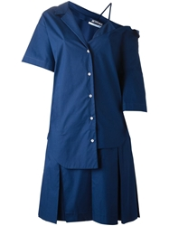 Jacquemus Asymmetrical Shirt Dress