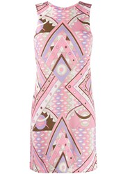 Emilio Pucci Abstract Print Short Dress 60