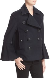 Burberry Women's Juliette Townhill Double Breasted Peacoat