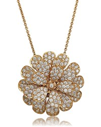 Hueb Secret Garden 18K Gold And Diamond Necklace