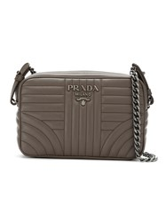 Prada 1Bh083vcoi2d91 F0xjd Furs And Skins Leather Grey