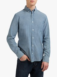 Eden Park Cotton Shirt Dark Grey