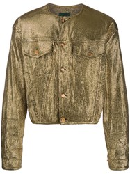 Jean Paul Gaultier Vintage Metallic Jacket Gold