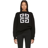 Givenchy Black 4G Sweater
