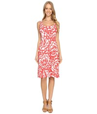 Tommy Bahama Floraciones Square Neck Dress Apple Blossom Women's Dress Pink