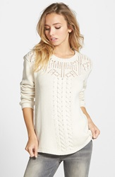Element 'Jonas' Sweater Ivory