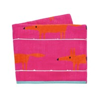 Scion Mr Fox Beach Towel Cerise