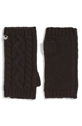 Uggr Women's Ugg Cable Knit Fingerless Gloves