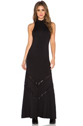 Stillwater The Victorian Maxi Dress Black