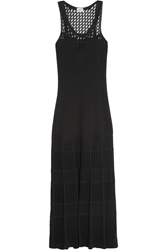 Philosophy Knitted Maxi Dress Black