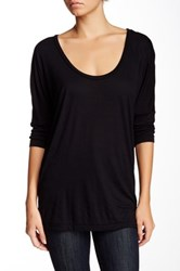American Apparel Dolman Sleeve Tee Black