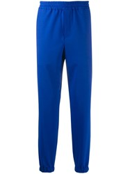 Kenzo Tapered Track Pants Blue