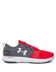 Under Armour Ua Commit Trainer Mesh Sneakers Rhino Grey Red