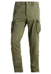 Petrol Industries Cargo Trousers Green Stone