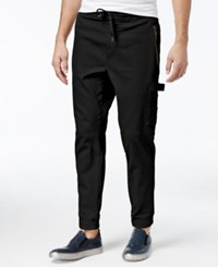 American Rag Men's Carpenter Pants Only At Macy's Deep Black