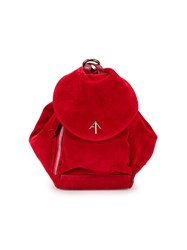 Manu Atelier 'Mini Fernweh' Backpack Red