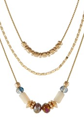 Vero Moda 3Pack Vmcloe Necklace Goldcoloured