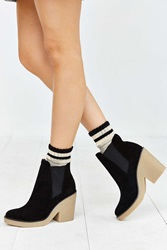 Urban Outfitters Posey Gum Sole Boot Black