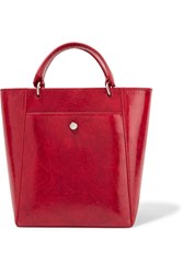 Elizabeth And James Eloise Small Patent Textured Leather Tote