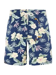 Howick Tropical Print Swim Short Navy