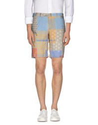 Mosaique Trousers Bermuda Shorts Men